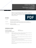 CV Jonathan Villar Vasquez