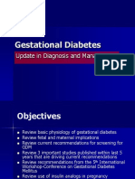Gestational Diabetes 2010