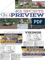 Cadillac News Spring Sports Preview 2019