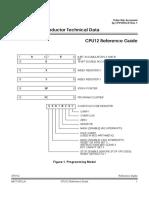 Apuntes 0 Modelo de Programación HC12