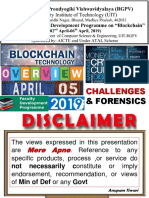 BLOCKCHAIN TECHNOLOGY & CRYPTOCURRENCY CRIMES