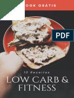 Recetas low carb y firness