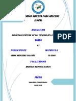 Anatomía y Filosofía Humana Tarea 7