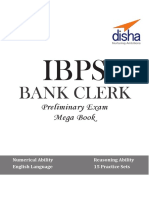 IBPS Bank Clerk Preliminary Exam MegaBook - (Guide + 15 Practice Sets) (English).pdf