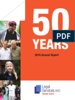 Legal Services NYC's 2018 Annual Report