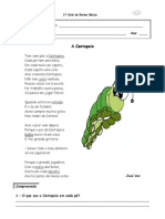 A Centopeia - Textos