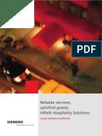 HiPath Hospitality V2.0 Brochure