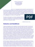 Vedanta and Buddhism -Von Glasenapp