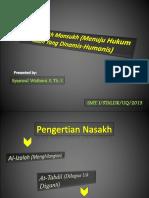 Nasikh Mansukh