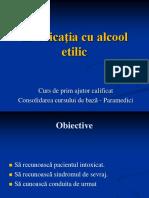 1. Conduita in Intoxicatia Cu Alcool Etilic