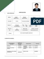 Curriculum Topografo