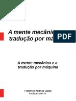 A mente mecânica e a tradução