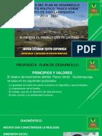 Plan de Gobierno Pasco Verde Goyllarisquizga2 2019 - 2022