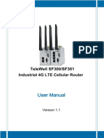 TeleWell SF300-SF301 series Industrial 4G LTE Router_User Manual_V1_1_08282017doc.pdf