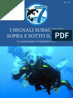 I Segnali subacquei