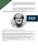 Aristotle's Fallacy