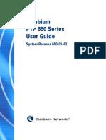 Cambium PTP 650 Series 01-42 User Guide.pdf
