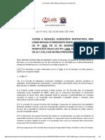 Lei Ordinária 1922 1995 de Santana de Parnaíba SP