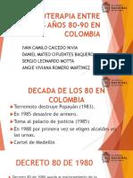 La Fisioterapia Entre Los a%c3%91os 80-90 en Colombia