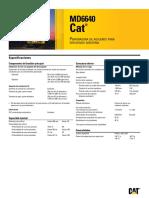 Especiificaciones de La Perforadora Electrica MD6640