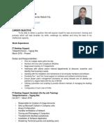 Christian's CV (2)