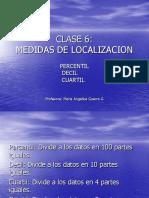 CLASE 6 ML en DATOS NO AGRUPADOS Varible Discreta, Continua