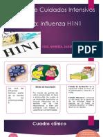 Unidad de Cuidados Intensivos INFLUENZA H1N1.pptx