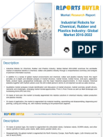 Industrial Robots for Chemical, Rubber and Plastics Industry