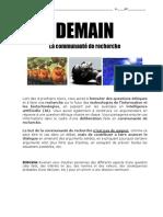 Communauté de Recherche 2019 - Document de Lélève