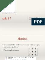 FIC Introdução à Programação - aula 17 - matriz.pdf