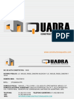 CURRICULUM QUADRA 2013