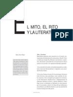 El Mito_ El Rito y La Literatura