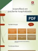 seminario tromboprofilaxis