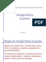 Teórica 4 - Arranjos Físicos