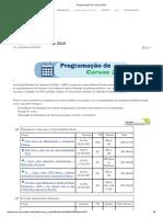 ABOP - Programação de Cursos 2019