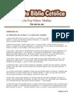 DÍA 001 - 365 Días Para Leer La Sagrada Escritura