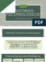 Trastornos psicofisiologicos en niños
