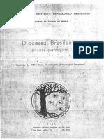 Dioceses brasileiras e suas paróquias