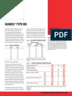 H93479 NOMEX Type 993 Data Sheet