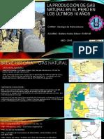 La Producción de Gas Natural en El Perú Casii 2016 u 17