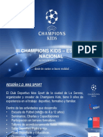 Champions Kids Estadio                                                                  Nacional.ppt