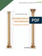 Sucesso Em Alta Performance - Volume II - Planejando o Sucesso