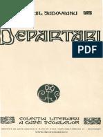 Departari - Sadoveanu.pdf