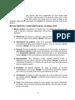 1- ORGANIZACIÓN MATERIA - CONCEPTOS