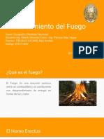 Descubrimiento Del Fuego