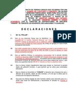 Contrato de Usufructo Con Ejidatario o Comunero Revisado Por El Ran Ltima Versi n