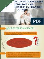 El Estudio de Los Trastornos de La (1)