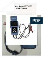 manual tester MST168