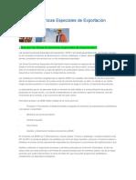 Zonas Económicas Especiales de Exportación.docx