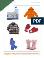 Seasons and Clothing Matching